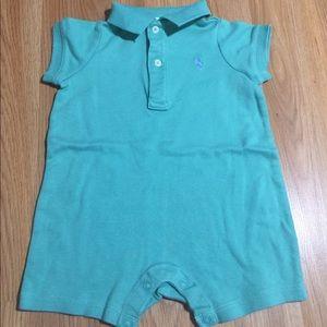 Ralph Lauren Baby Polo shirt onesie